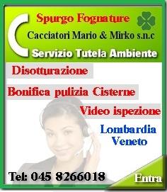 Bonifica Cisterne Verona